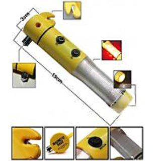5 In 1 Car Emergency Torch Hammer