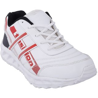 bahulla white sports shoes