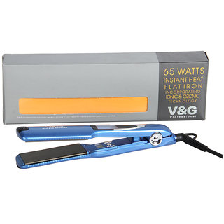 VG 9338 Hair Straightener For Men/Women (Black)