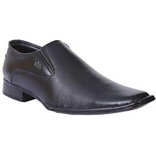 Allen Cooper AC-1351 Black Mens Formal Shoes