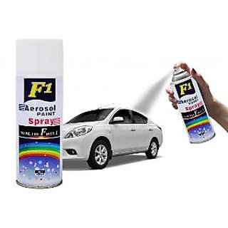 F1 Aerosol Spray White