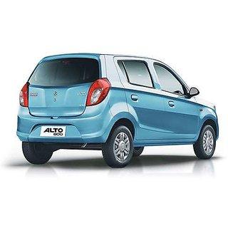 Maruti Suzuki Alto 800 Car Body Cover in Silver Matty Cloth - ALTO 800