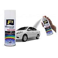 F1 Aerosol Spray Paint White For Multipurpose(Car,Bike,Cycle,etc.)
