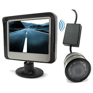Red Soul Reverse Parking Display - LCD Reverse Sensor System