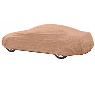 Takecare Beige Car Body Cover For Mahindra Xylo