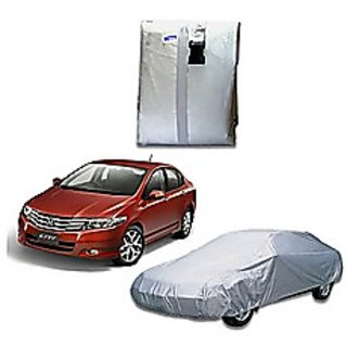 Car Body Cover for Honda City ivtec - Silver Colour