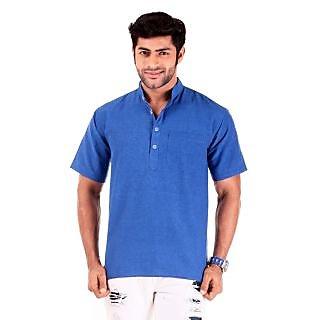 Azure Blue Short Kurta