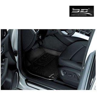 3D Car Foot Mats - Skoda - Superb 2012 - Black