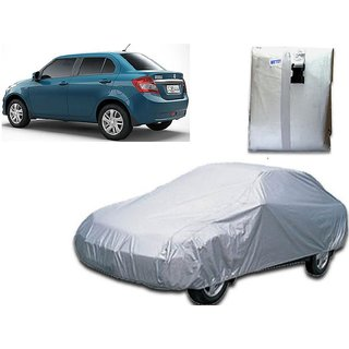 Maruti Suzuki Swift New Dzire Car Body Cover Silver Color.