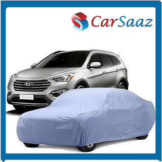 Car Body Cover For HYUNDAI I10(All Models) Metty - Silver