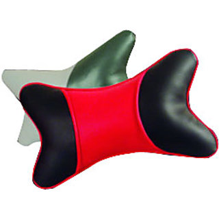 Car Neckrest Set Assorted Colors  Designs