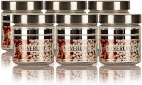 Silver Line Containers 200ml  Set of 6