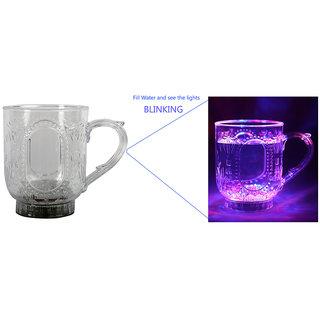 ARC EN CIEL Transparent Party Light Blinking Mug