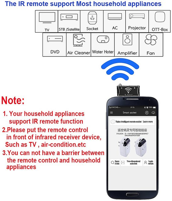 Universal 3 5mm Audio Mobile Smart IR Remote Controller IR blaster remote  control for Android IOS devices