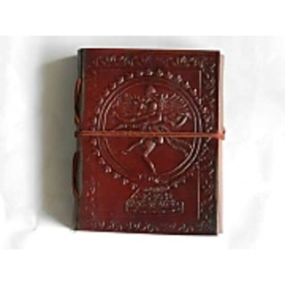 leather diary medium