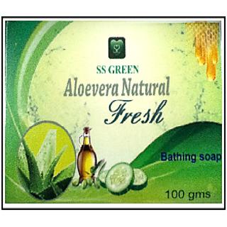 Aloe Vera Natural Fresh Soap 78 TFM 100gm