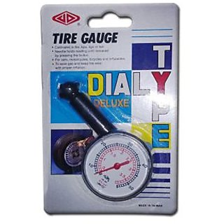 Plastic Tyre Pressure Gauge for Cars Bikes Cycles