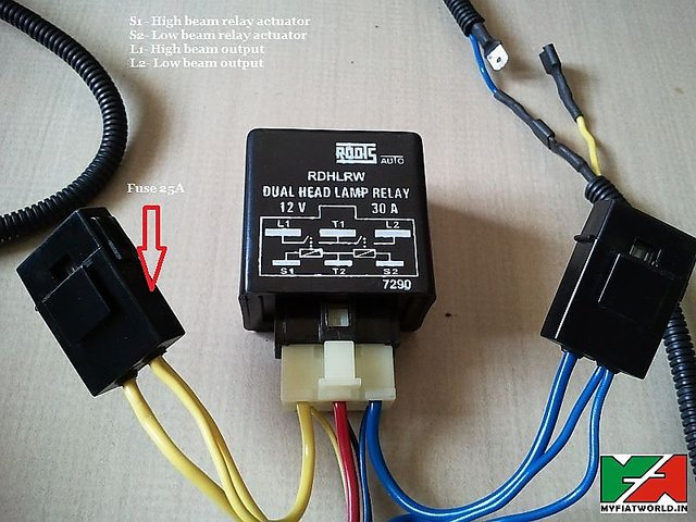 Dual Headlight Relay Wiring Diagram from cdn.shopclues.com