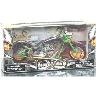 Mahaveer Enterprises, Ray Die Cast Custom Bike 2(Multicolor)