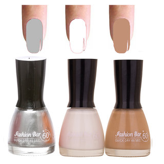Golden Shades 3 Of Pack Gorgeous Nail Polish Combo In 27 Ml