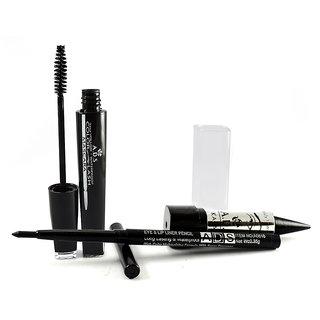 Ads Mascara Kajal Eye Lip Liner (Pack Of 3)