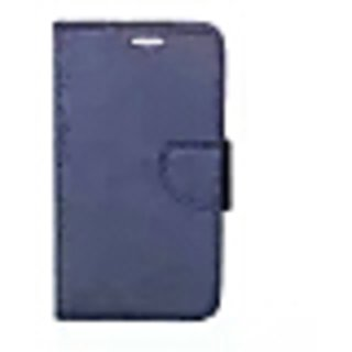 Synthitic  leather  Flip  For Samsang J7 (2016) Edition Blue By 14 CASE