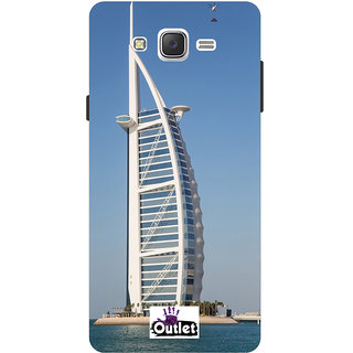 HI5OUTLET Premium Quality Printed Back Case Cover For Samsung Galaxy On7 Design 135