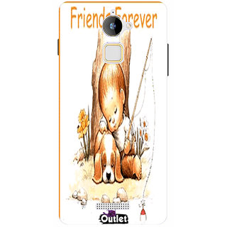 HI5OUTLET Premium Quality Printed Back Case Cover For Coolpad Note 3 Lite Design 3