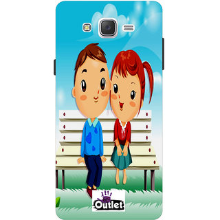 HI5OUTLET Premium Quality Printed Back Case Cover For Samsung Galaxy On5 Design 7