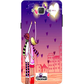 HI5OUTLET Premium Quality Printed Back Case Cover For Samsung Galaxy J3 Design 8