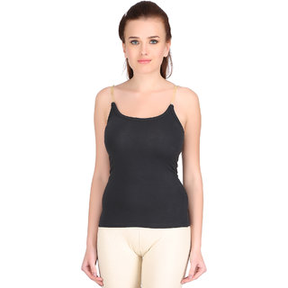 Carein Womens Camisole (Cemi5176BlackMedium)