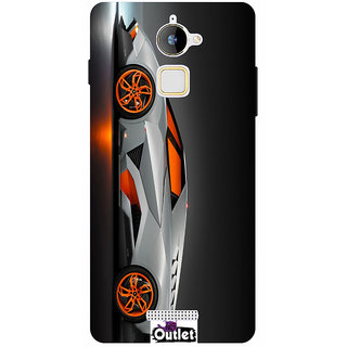 HI5OUTLET Premium Quality Printed Back Case Cover For Coolpad Note 3 Lite Design 34