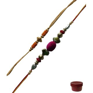 Laviva ROB13729 The Most Amazing Rakhi Set for Bhaiya