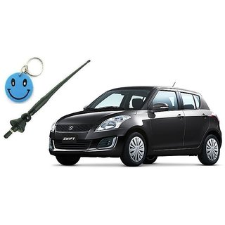 Maruti Suzuki Old Swift Original Fitment OE AM/FM Antenna Free Smiley Key Chain.