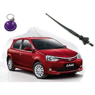 Toyota Liva Original Fitment OE AM/FM Roof Antenna Free Smiley Key Chain.