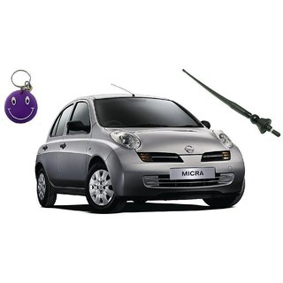 Nissan Micra Original Fitment OE AM/FM  Roof Antenna With Free Smiley Key Chain.