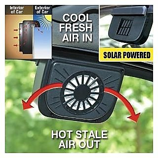 AUTO COOL - SOLAR CAR FAN