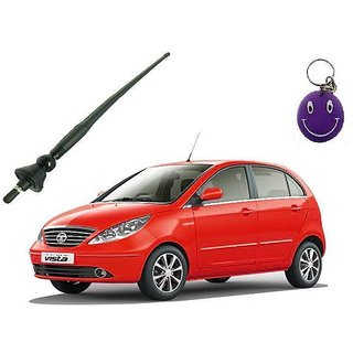 Tata Vista Original Fitment OE AM/FM Screw In Roof Antenna Free Smiley Key Chain