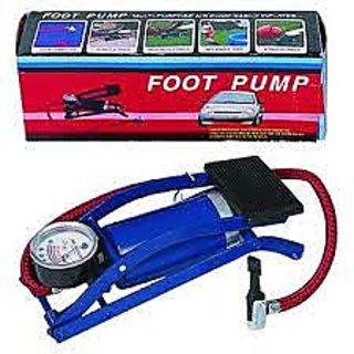 MINI FOOT PUMP WITH METER 02 PCS