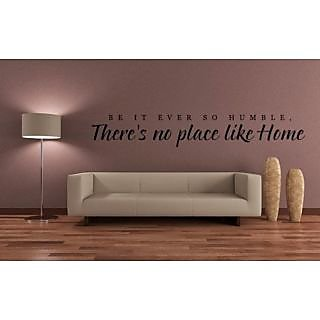 DeStudio Be It Ever So Humble One TINY Size Wall Decals  Stickers  (45cms x 60cms)