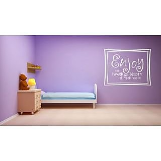 DeStudio Enjoy The Power One Small Size Wall Decals  Stickers  (45cms x 51cms)