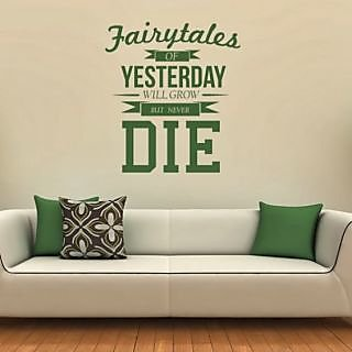 DeStudio Fairytales Of Yesterday Small Size Wall Decals  Stickers  (45cms x 51cms)