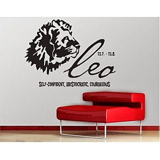DeStudio Zodiac Sign Leo Small Size Wall Decals  Stickers  (45cms x 51cms)