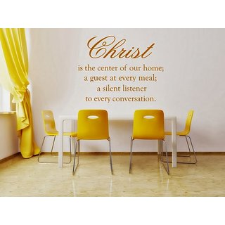 DeStudio Christ Is The Centre One TINY Size Wall Decals  Stickers  (45cms x 60cms)