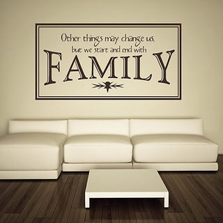 DeStudio Other Things Change But Small Size Wall Decals  Stickers  (45cms x 51cms)