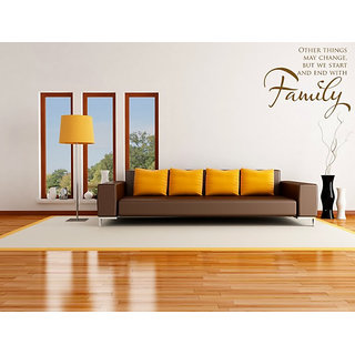 DeStudio Other Things Change One Small Size Wall Decals  Stickers  (45cms x 51cms)