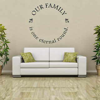 DeStudio Our Family One TINY Size Wall Decals  Stickers  (45cms x 60cms)