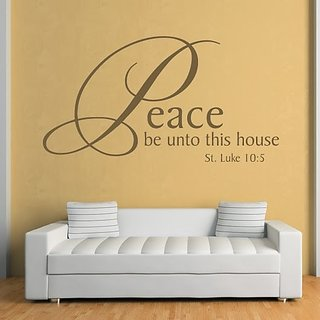 DeStudio Peace Be Unto TINY Size Wall Decals  Stickers  (45cms x 60cms)