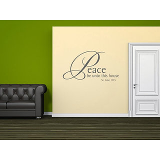 DeStudio Peace Be Unto One Small Size Wall Decals  Stickers  (45cms x 51cms)