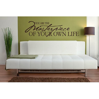 DeStudio You Are The Masterpiece One Small Size Wall Decals  Stickers  (45cms x 51cms)
